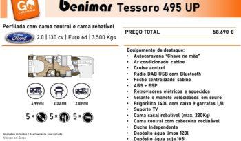 BENIMAR, Tessoro 495UP cheio
