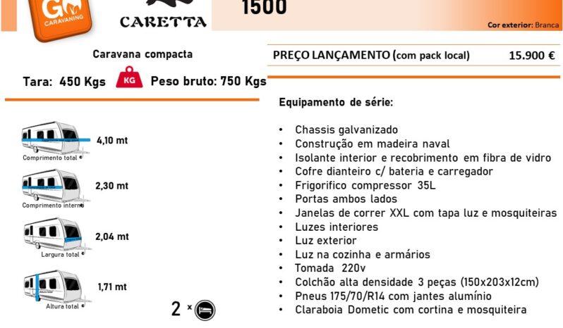 CARETTA, 1500 cheio