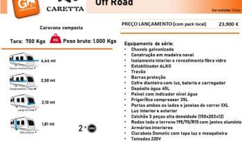 CARETTA, Off Road cheio