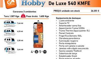HOBBY, De Luxe 540 Kmfe cheio