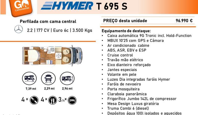 HYMER, T695 S cheio