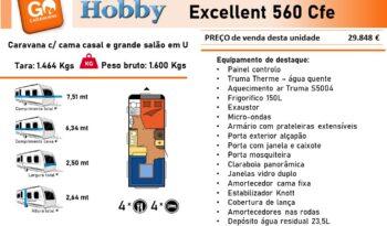 HOBBY, Excellent 560Cfe cheio