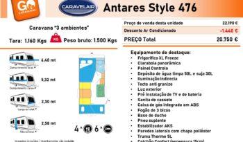 CARAVELAIR, ANTARES 476 cheio