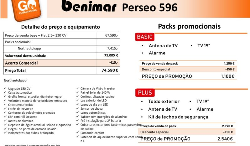 BENIMAR, Perseo 596 cheio