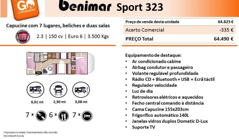 BENIMAR, Sport 323 cheio