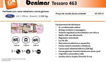 BENIMAR, Tessoro 463 cheio