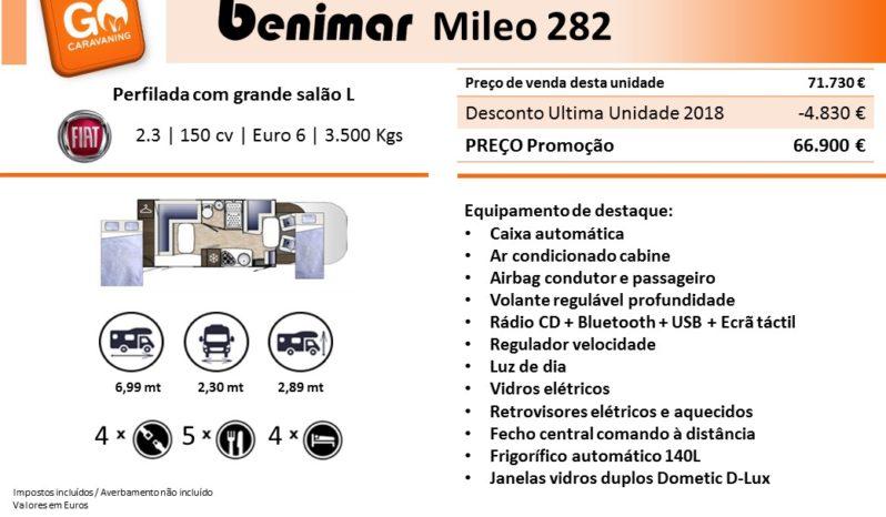 BENIMAR, Mileo 282 cheio