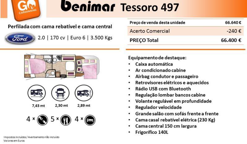 BENIMAR, Tessoro 497 cheio