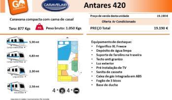 CARAVELAIR, ANTARES 420 cheio