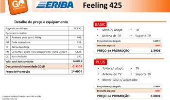 ERIBA, Feeling 425 cheio
