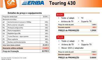 ERIBA, Touring 430 cheio