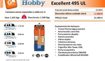 HOBBY, Excellent 495UL cheio