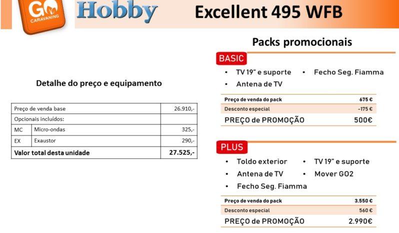 HOBBY, Excellent 495WFB cheio