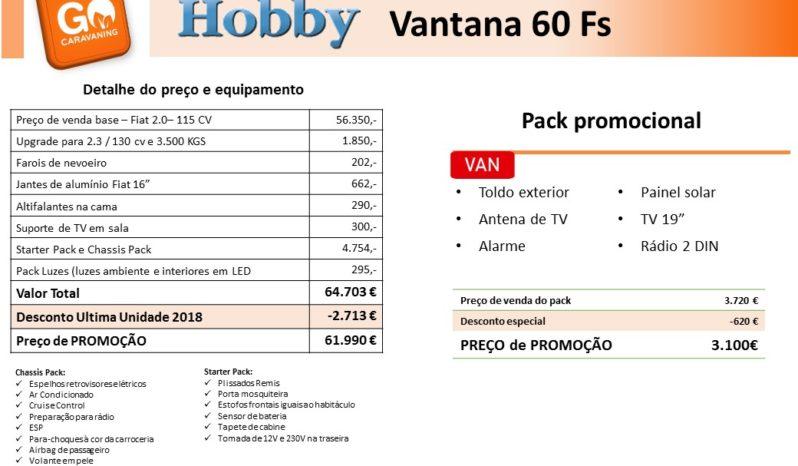 HOBBY, Vantana 60Fs cheio