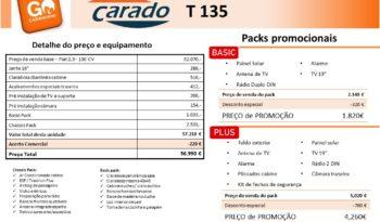 CARADO, T135 cheio