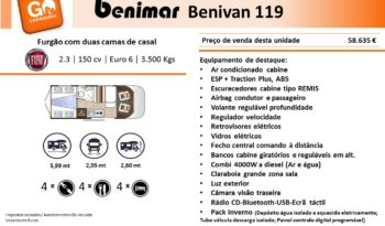 BENIMAR, Benivan 119 cheio