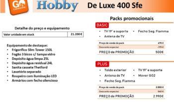 HOBBY, De Luxe 400 Sfe cheio