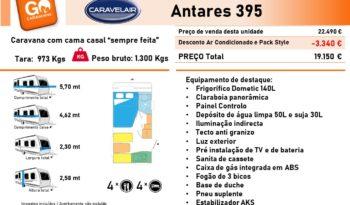 CARAVELAIR, ANTARES 395 cheio