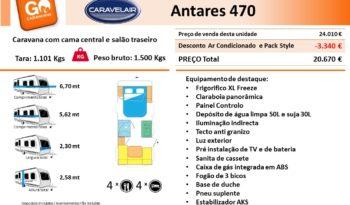 CARAVELAIR, ANTARES 470 cheio