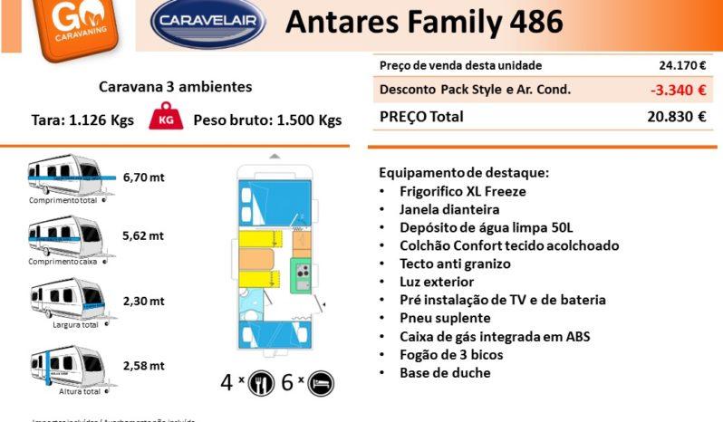 CARAVELAIR, ANTARES Family 486 cheio