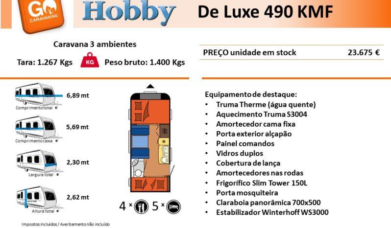 HOBBY, De Luxe 490 KMF cheio