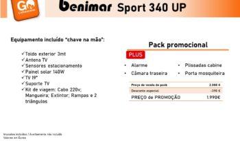 BENIMAR, Sport 340UP cheio
