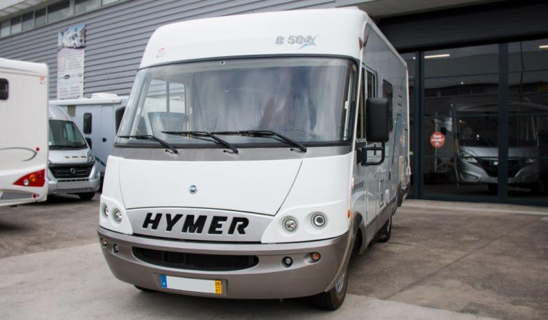 HYMER, B504 cheio