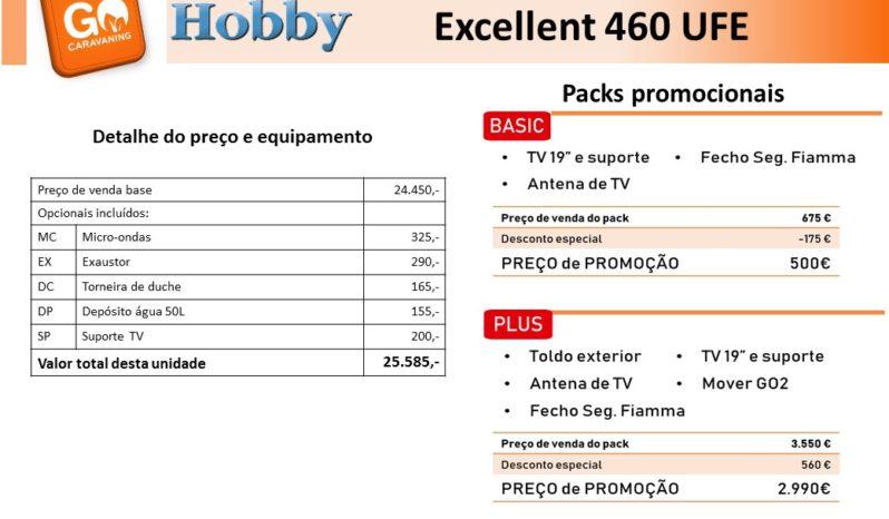 HOBBY, Excellent 460 Ufe cheio
