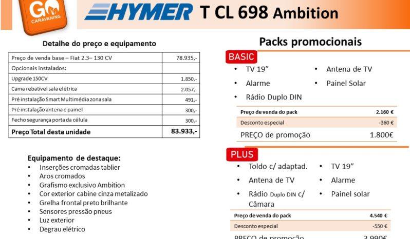HYMER, T698 CL cheio