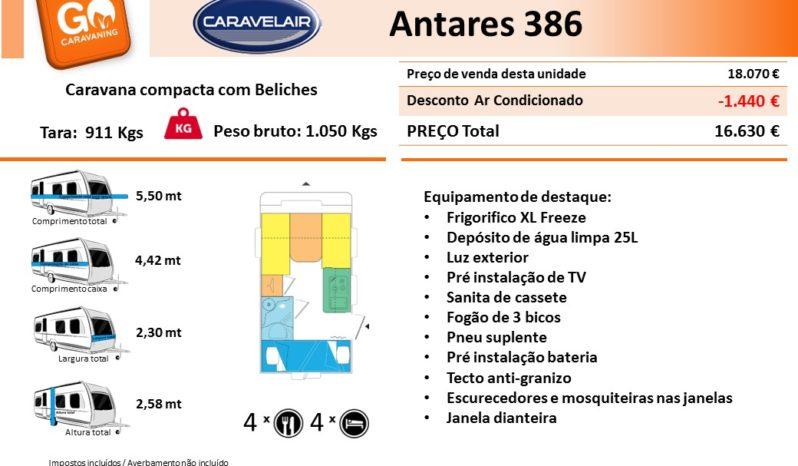 CARAVELAIR, ANTARES 386 cheio