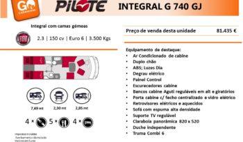PILOTE, G740 GJ cheio