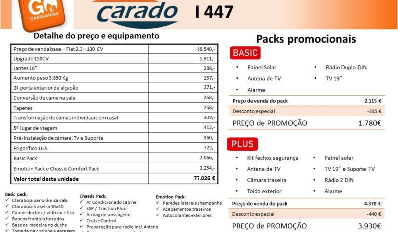 CARADO, I447 cheio