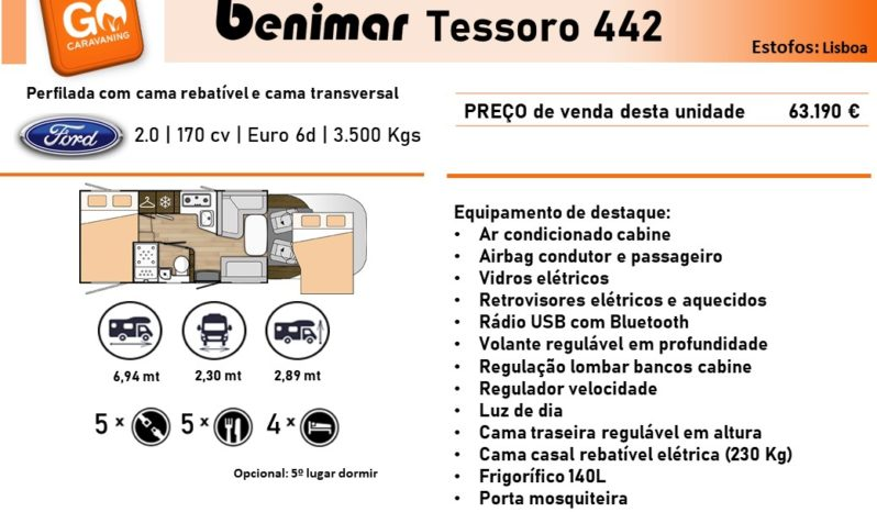 BENIMAR, Tessoro 442 cheio