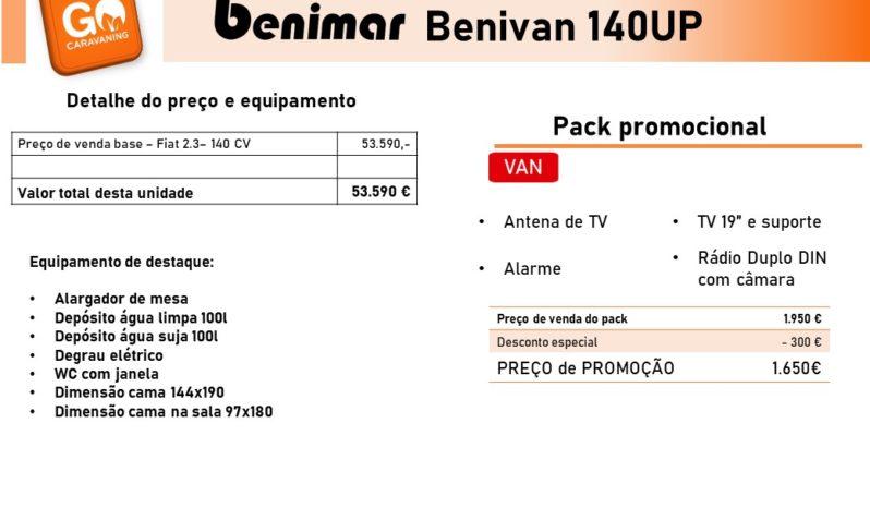 BENIMAR, Benivan 140UP cheio