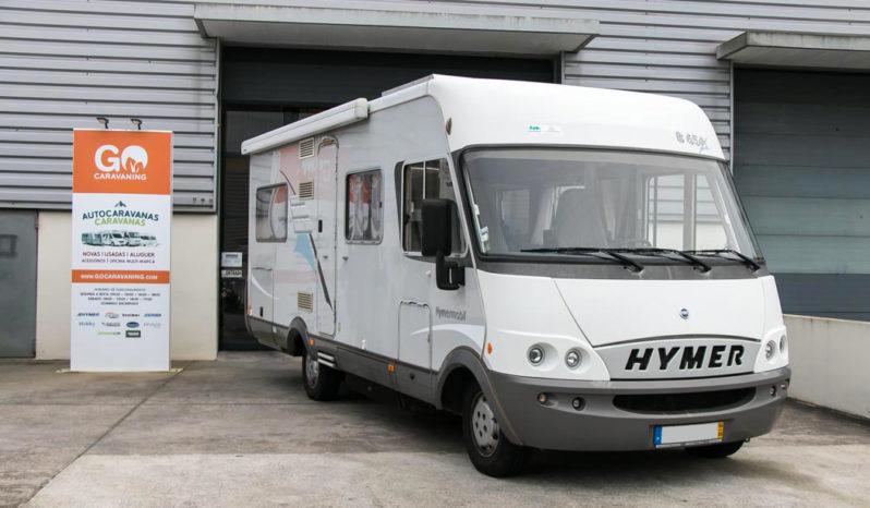 Hymer, B 654 cheio