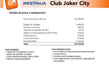 Westfalia, Joker City cheio