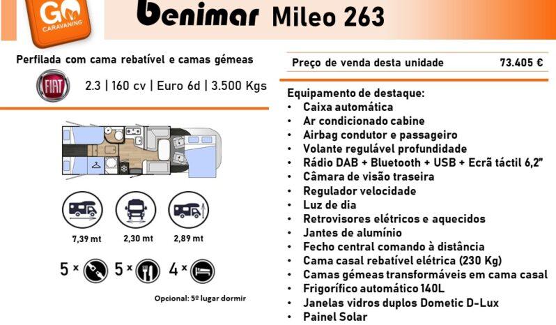 BENIMAR, Mileo 263 cheio