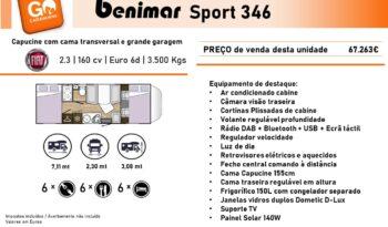 BENIMAR, Sport 346 cheio