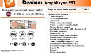BENIMAR, Amphitryon 997 cheio