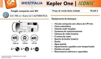 Westfalia, Kepler Iconic cheio