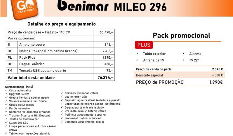 BENIMAR, Mileo 296 cheio