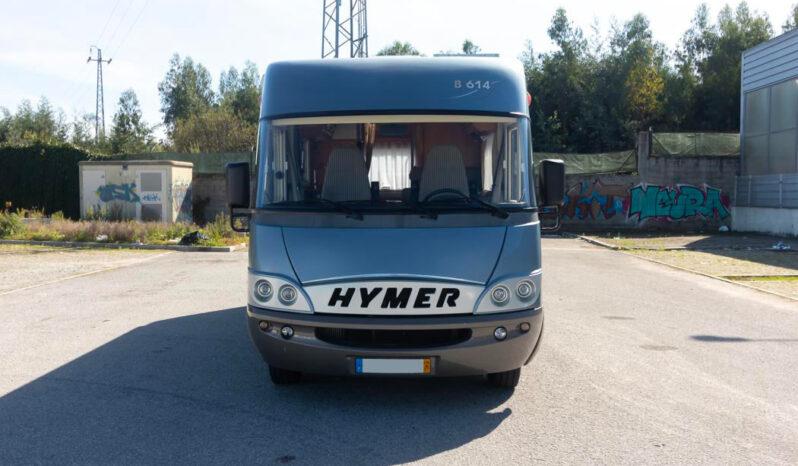 HYMER, B614 cheio
