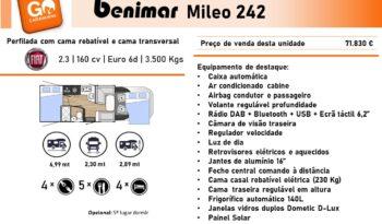BENIMAR, Mileo 242 cheio