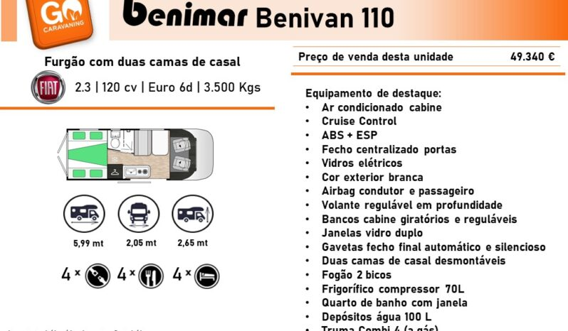 BENIMAR, Benivan 110 cheio