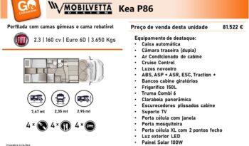 MOBILVETTA, Kea P86 cheio