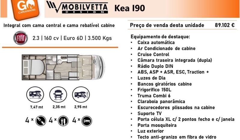 MOBILVETTA, Kea I90 cheio
