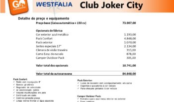 Westfalia, Club Joker City cheio