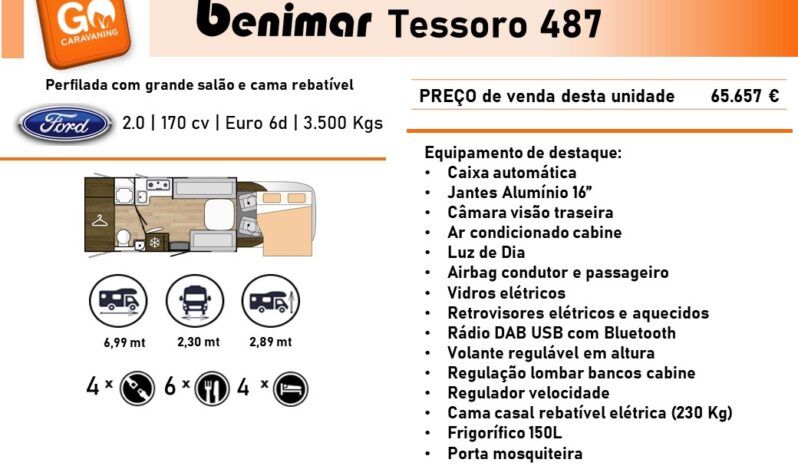 BENIMAR, Tessoro 487 cheio