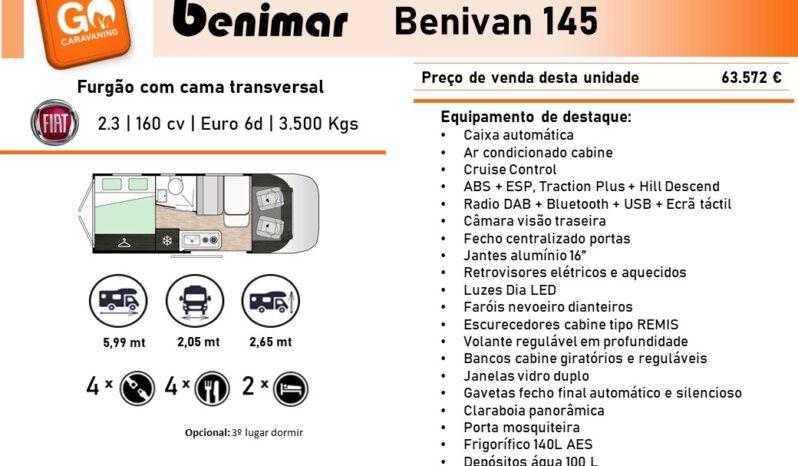 BENIMAR, Benivan 145 cheio