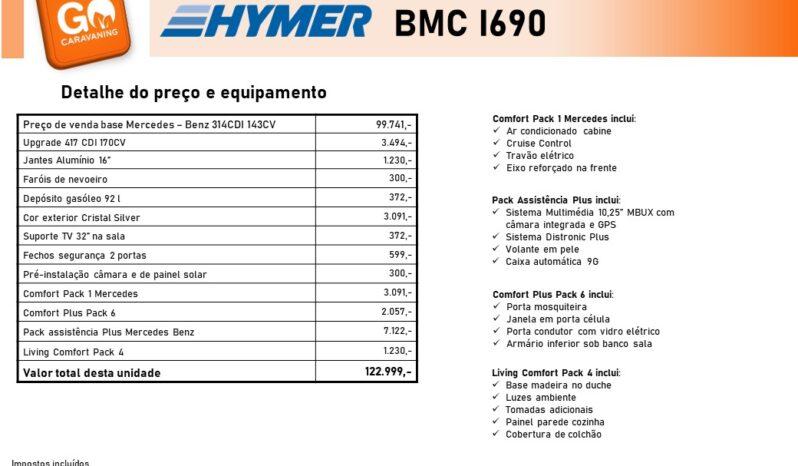 HYMER, BMC-i 690 cheio